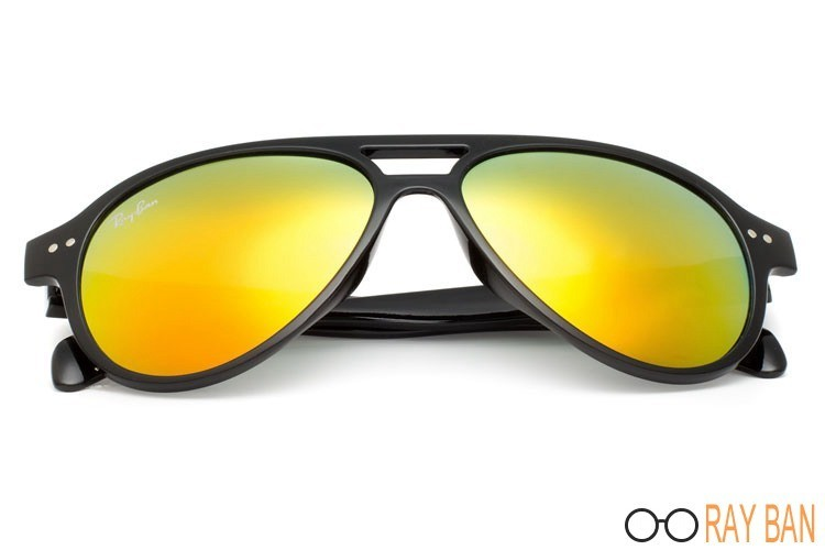 Ray Ban RB1091 Cats 5000 Black Sunglasses cheap