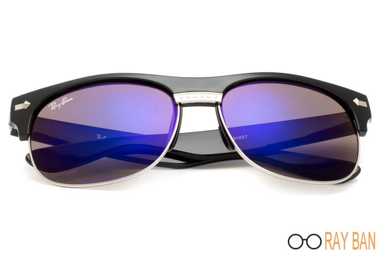 Ray Ban RB20257 Clubmaster Oversized Flash Lenses sale