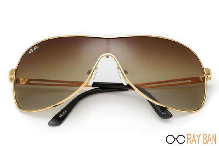 Ray Ban RB3466 Highstreet Gold Sunglasses