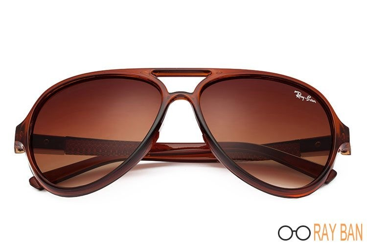 Ray Ban RB4125 Cats 5000 Brown Sunglasses