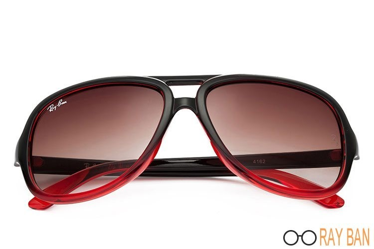 Ray Ban RB4162 Cats 5000 Red Sunglasses