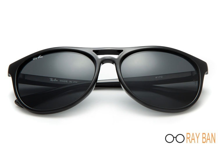 Ray Ban RB4170 Cats 5000 Black Sunglasses