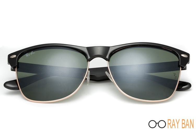 Ray Ban RB4175 Clubmaster Oversized Classic Black