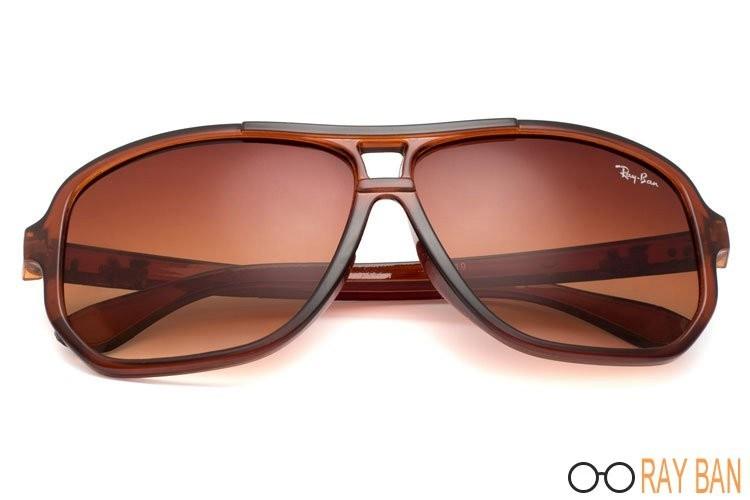 Ray Ban RB5819 Highstreet Brown Sunglasses