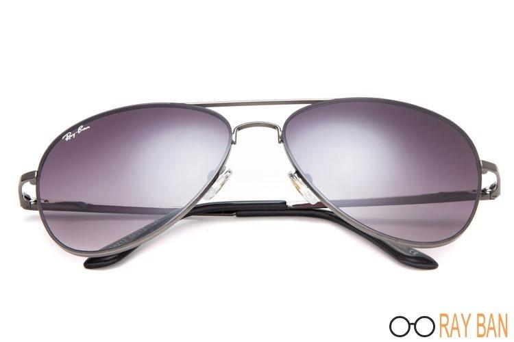 Ray Bans RB8212 Aviator Grey Sunglasses