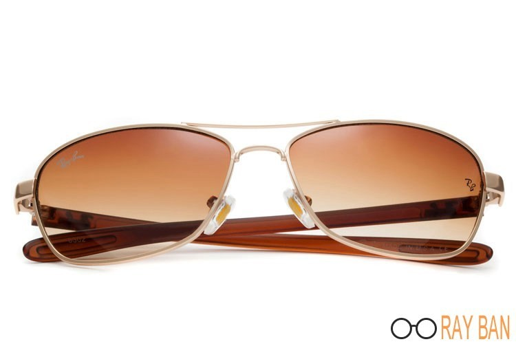Ray Ban RB8302 Tech Carbon Gold Sunglasses