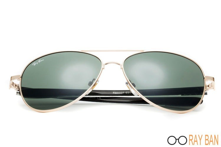 Ray Ban RB8307 Tech Carbon Fibre Gold Sunglasses