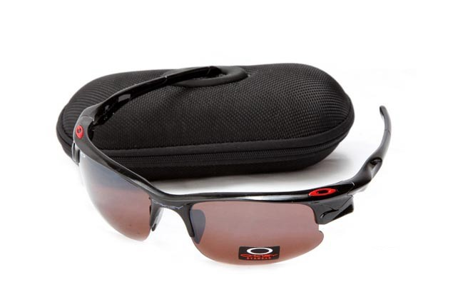 Oakley fast jacket sunglasses in polished black and vr28 vented