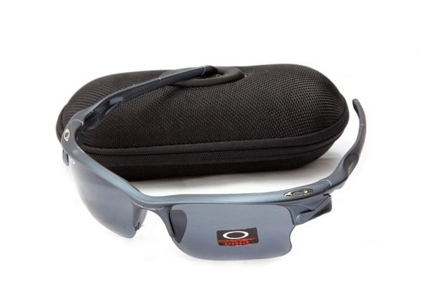 Oakley fast jacket sunglasses in orion blue and grey