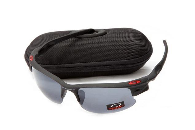 Oakley fast jacket sunglasses in matte black and grey